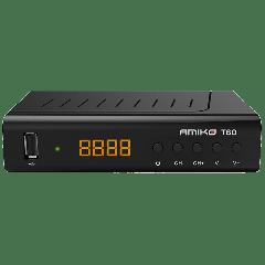 Amiko T60 DVB-T2 zemaljski risiver