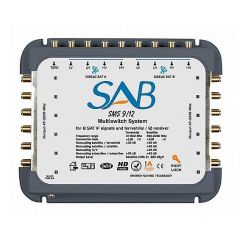 SAB 9+1/12 multiswitch