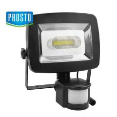 Solarni LED reflektor sa PIR senzorom 5W LRFS-28C001-W/BK