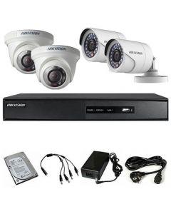 HikVision komplet 4 kamere 1Mpix