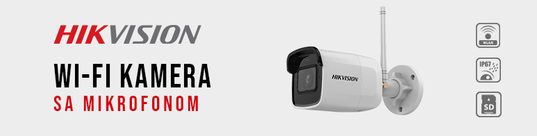 HikVision WI FI kamera