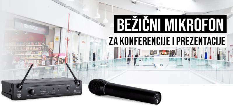 Bežični mikrofon za konferencije i prezentacije