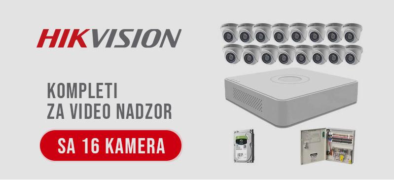 HikVision - Kompleti sa 16 kamera