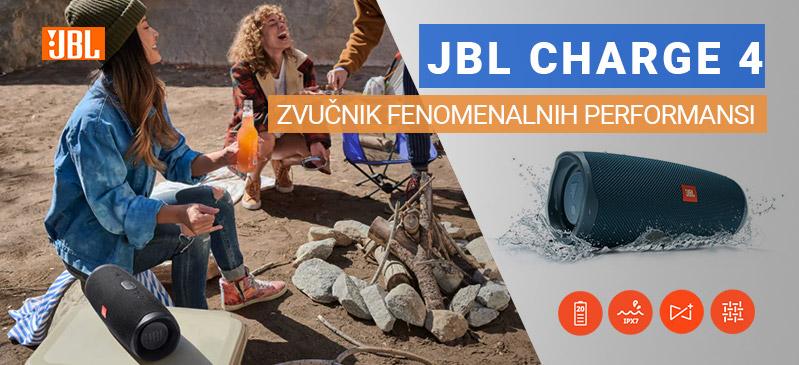 JBL CHARGE 4 Zvučnici