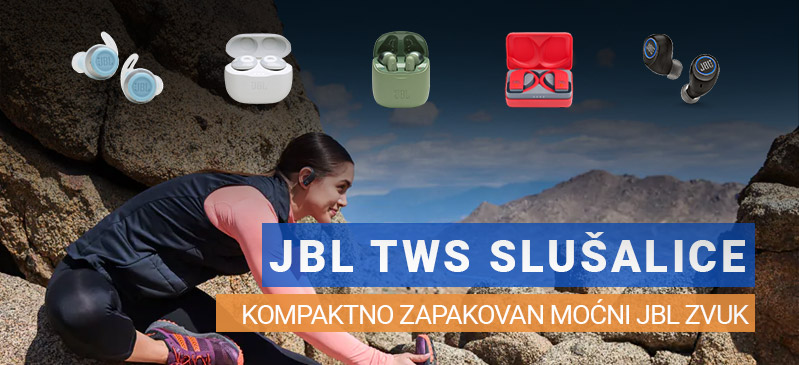JBL TWS slušalice